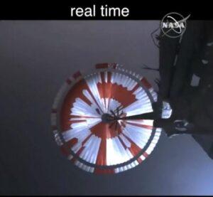 Mars Perseverance Parachute Has a Hidden Secret Message